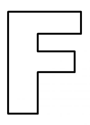 Free Coloring Pages Of F Is For Five